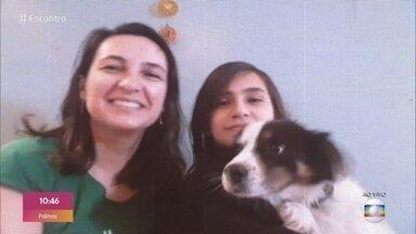 Menino faz 'abaixo-assinado' com famosos para ganhar um cachorrinho - Klebber Toledo participa do papo com Francisco e a mãe Ângela. O menino conta de onde teve a ideia para convencer a mãe a deixá-lo adotar um cão.