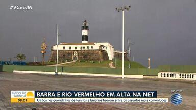 Baianos comentam a saudade que sentem de pontos turísticos de Salvador durante a pandemia - O Farol da Barra e o Largo do Rio Vermelho foram os locais mais lembrados.
