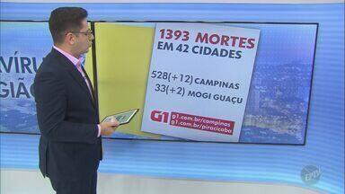 Coronavírus: Amparo registra mais sete casos; veja atualizações da região - Total subiu para 273 na cidade, que soma 11 mortes provocadas pela doença. Entre os pacientes que testaram positivo, 237 se recuperaram, 16 estão internados e nove em isolamento domiciliar.