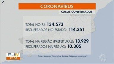 RJ1 atualiza casos da Covid-19 no sul do estado - Resende, Porto Real e Três Rios registraram novas mortes causadas pela doença.