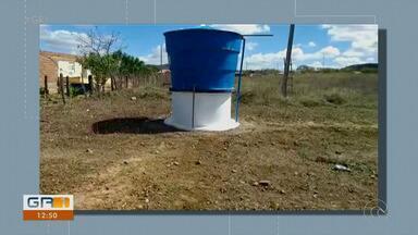 Equipamento movido a energia solar foi instalado pela codevasf - Equipamento vai garantir o abastecimento da comunidade na área de sequeiro.