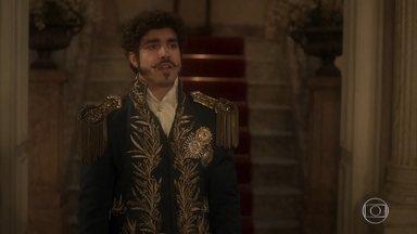 Dom Pedro protege Anna de Thomas - O príncipe manda o intendente sair do palácio e declara que Anna está sob sua proteção