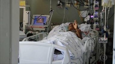 Menino de 10 anos faz transplante de coração em Belo Horizonte - Renan estava internado em estado grave na Santa Casa. Segundo os médicos, o transplante foi um sucesso.