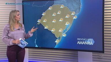 Quarta-feira (22) deve ser de calor e tempo firme em todo o RS - Enquanto isso, nuvem de gafanhotos se desloca 33 km e avança 2 km em direção ao Estado, diz Secretaria da Agricultura, Pecuária e Desenvolvimento Rural (Seapdr) do RS.
