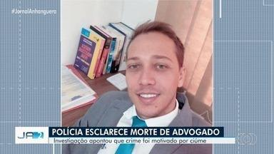 Polícia prende suspeitos de matar advogado a tiros na saída de restaurante, em Goiânia - Investigação apontou que crime foi motivado por ciúmes.