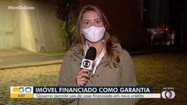Governo de Goiás permite o uso de casa financiada em novo crédito - Veja as regras.