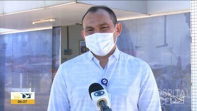 Secretário Carlos Lula visita Balsas para saber os números da Covid-19 - Com leitos de UTI lotados e o aumento no número de casos confirmados a região vive o pico da pandemia.