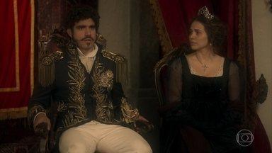Dom Pedro nomeia os Embaixadores do Brasil com a ajuda de Leopoldina - Ele se mostra agradecido pela dedicação da princesa em cuidar do Brasil