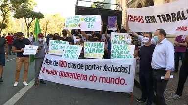Depois de BH, Minas Gerais registra recorde de mortes por Covid-19 em 24 horas - Foram 95 mortes em Minas Gerais. O recorde anterior era de 9 de julho, com 90 óbitos por coronavírus em um dia.