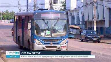 Greve do transporte coletiva encerra após quase quatro dias em Porto Velho - Trabalhadores exigiam pagamento de salários atrasados