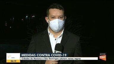 Marema e São Domingos adotam novas regras de combate a pandemia - Marema e São Domingos adotam novas regras de combate a pandemia