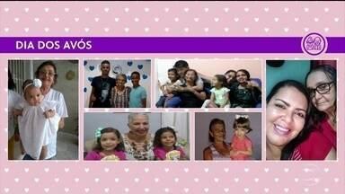 Telespectadores do Bom Dia PE enviam fotos de momentos especiais entre avós e netos - Dia dos Avós é comemorado no domingo (26).