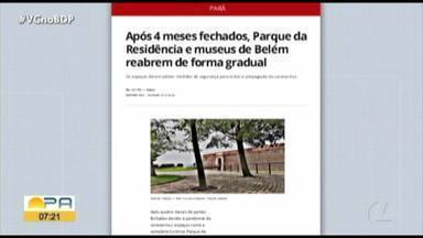Veja os destaques do G1 Pará com a jornalista Andréa França - Destaques G1 Pará.