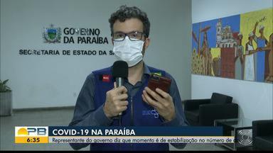 Representante do governo diz que casos de coronavírus estão estabilizados na Paraíba - Momento é de estabilização dos casos