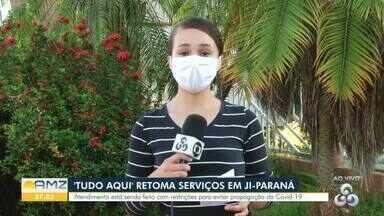 Tudo Aqui de Ji-Paraná retoma parte dos serviços presenciais - Porém é necessário fazer agendamento.