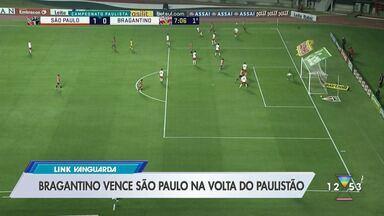 Bragantino vence o São Paulo no retorno ao Paulistão - Massa Bruta venceu duelo de virada.