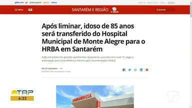 Confira o destaque do G1 Santarém e região - Acesse o portal pelo tablet, celular ou computador.