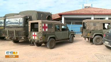 Marinha faz ações de desinfecção e limpeza em Marataízes e Itapemirim - Veja a reportagem!