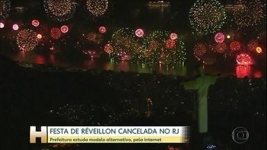 Prefeitura do Rio cancela o Réveillon por causa da pandemia - Pandemia provoca cancelamento da festa em Copacabana, mas prefeitura estuda celebração alternativa, pela internet.
