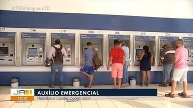 Tocantinenses vão até agências da Caixa neste sábado para sacar auxílio emergencial - Tocantinenses vão até agências da Caixa neste sábado para sacar auxílio emergencial