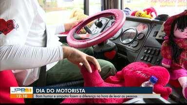 Bom humor, amor ao trabalho e simpatia fazem a diferença dos motoristas - Comemoração do Dia do Motorista