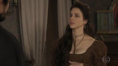 Chalaça descobre que Benedita está grávida de Dom Pedro - E é a própria irmã de Domitila quem confessa