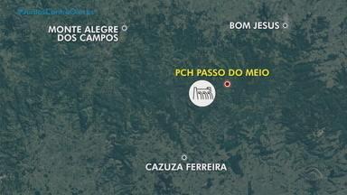 Hidrelétrica Passo do Meio tem problemas na estrutura; situação está controlada - Empresa avisou a Defesa Civil e os municípios próximos. Segundo ela, não há motivo para preocupação.