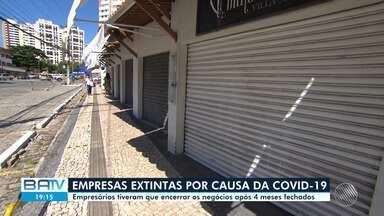 Covid-19: Empresários são obrigados a encerrar os negócios após quatro meses fechados - O comércio e shoppings da capital baiana forma reabertos na sexta-feira (24).