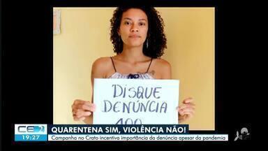 A violência contra mulher no interior durante pandemia - Saiba mais em g1.com.br/ce