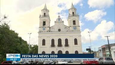 Festa da Padroeira da Paraíba tem missas garantidas e começam neste domingo (26) - Para ser realizada, vai ter limite de fiéis nas missas