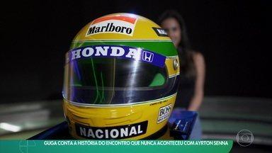 Guga conta a história do encontro que nunca aconteceu com Ayrton Senna - Guga conta a história do encontro que nunca aconteceu com Ayrton Senna