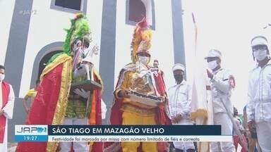 Restrita a moradores, Festa de São Tiago encanta vila de Mazagão Velho, no Amapá - Tradição de 243 anos não recebeu público em função da pandemia.