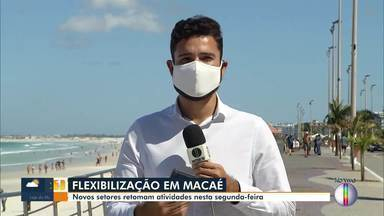 Nova etapa de flexibilização começa a valer em Macaé - Cidade tem 5.327 casos confirmados e 106 mortes por coronavírus.