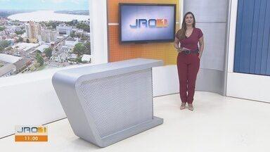 Veja a íntegra do JRO1 desta segunda-feira, dia 27 de Julho - Telejornal é apresentado por Yonara Werri.