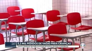 Prefeitura de SP registra aumento na procura por rede municipal de ensino - 5,2 mil novos pedidos de matrícula foram feitos desde março