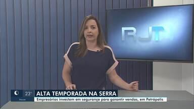 RJ2 Inter TV - edição de sábado, 25/07/2020 - Telejornal traz as principais notícias do interior do Rio.
