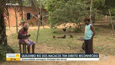 Comunidade Quilombola Rio dos Macacos recebe titulação de terras após mais de 40 anos - O INCRA é responsável pela demarcação da área, que fica em Simões Filho.