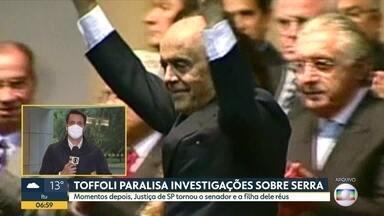 José Serra vira réu por lavagem de dinheiro - Decisão do STF suspende investigações contra Serra na Lava Jato