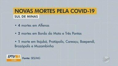 Com mais um recorde diário, Sul de Minas passa dos 9 mil casos de Covid-19, aponta Estado - Com mais um recorde diário, Sul de Minas passa dos 9 mil casos de Covid-19, aponta Estado