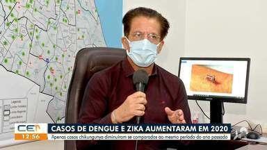 Casos de dengue e zika aumento em 2020 - Saiba mais no g1.com.br/ce