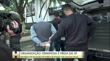 Polícia Civil faz operação contra crime organizado no estado de SP - Mais de 400 policiais cumprem 25 mandados de prisão nesta quinta-feira (30) na capital e litoral.