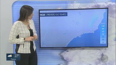 Veja a previsão do tempo para a região nesta quinta-feira (30) - Temperatura máxima pode chegar a 29ºC em Ribeirão Preto. Agosto deve ser um mês quente e seco.