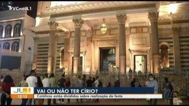 Católicos estão divididos sobre realização do Círio 2020 - A diretoria da festa ainda não tomou uma decisão sobre a realização da festa este ano.