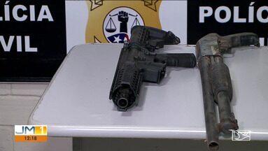 Operação policial apreende armas em Tuntum - O repórter Adailton Borba tem mais informações.