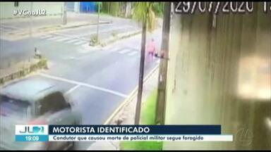 Motorista que causou morte de policial militar no PA é identificado e segue foragido - Irresponsabilidade no trânsito traz perigos.
