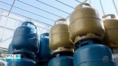 Preço do gás de cozinha aumenta em Presidente Prudente - Valor pode variar de um lugar para o outro.