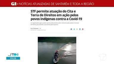Permissão de atuação do Cita e Terra de Direitos é notícia em destaque no G1 Santarém - Acesse a reportagem completa no g1.com.br/tvtapajos
