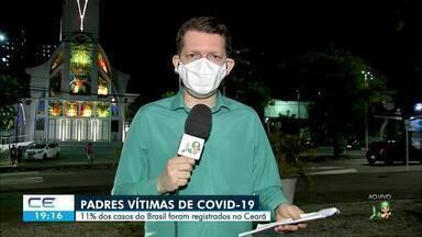 Ceará tem 11% dos padres vítimas de covid-19 no país - Saiba mais em: g1.com.br/ce