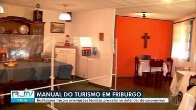 Instituições criam manual de proteção da Covid-19 para setor do Turismo em Nova Friburgo - O manual explica como deve ser o uso das áreas comuns, respeitando o distanciamento e os cuidados com a higiene.