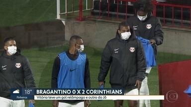 Corinthians vence Bragantino e vai à semifinal do Paulistão - Corinthians vence Bragantino e vai à semifinal do Paulistão